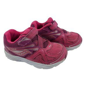 Saucony Baby Ride Pink Athletic Sneaker 5